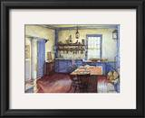 Farmhouse Kitchen Posters by Deborah Chabrian