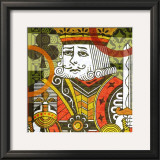 King of Clubs Prints by Jack Jones