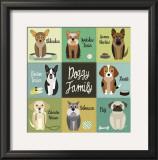 Doggy Family Posters by Jenn Ski