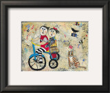 Bicycle Built for Two Posters by Barbara Olsen