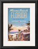Miami Beach Posters by Kerne Erickson
