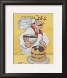 Cake Maker Prints by Carole Katchen
