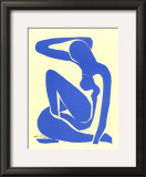 Blue Nude I, c.1952 Print by Henri Matisse