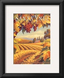 Santa Ynez Valley Prints by Kerne Erickson