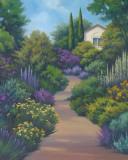 Garden Path II Print by Vivien Rhyan
