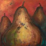 Pear Square I Print by Patricia Quintero-Pinto