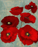 Kindle's Poppies II Prints by Lanie Loreth