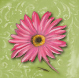 Blooming Daisy I Poster by Nelly Arenas