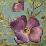 Purple Poppies II Art by Lanie Loreth