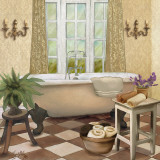 French Bath I Posters by Elizabeth Medley