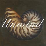Unwind Seashell Posters by Patricia Quintero-Pinto