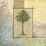 Palm Woodcut II Prints by Michael Marcon