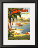 Fort Lauderdale, Florida Prints by Kerne Erickson