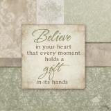 Believe in your Heart Prints by Elizabeth Medley
