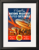 Super Skyliners Print by Kerne Erickson