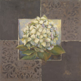 Hydrangeas on Brown II Posters by Patricia Quintero-Pinto