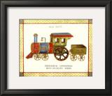 Mechanical Locomotive Art by Isabelle De Bercy