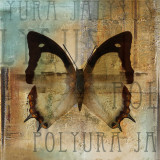 Polyurabutterfly I Posters by Patricia Quintero-Pinto