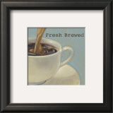 Fresh Coffee Print by Norman Wyatt Jr.