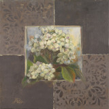 Hydrangeas on Brown I Prints by Patricia Quintero-Pinto