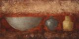 Rustic Vases II Affiches par Lanie Loreth