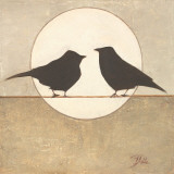 Birdies II Posters by Patricia Quintero-Pinto