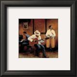Jazz Rhythms Posters by Myles Sullivan