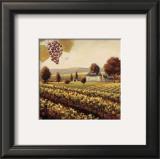 Family Estate Vineyard Art by James Wiens