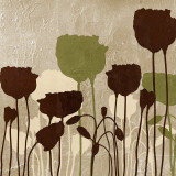 Floral Simplicity I (green) Prints by Patricia Quintero-Pinto