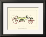 Antique Carriage II Posters