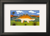Steggy the Stegosaurus Poster by Sophie Harding
