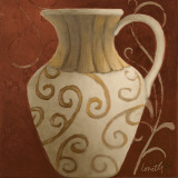 Vessel on Red II Prints by Lanie Loreth