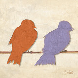 Birds I Prints by Patricia Quintero-Pinto