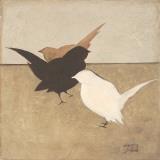 Birdies I Posters by Patricia Quintero-Pinto