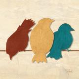 Birds II Kunstdruck von Patricia Quintero-Pinto