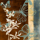 All-a-Flutter I Prints by Lanie Loreth