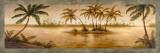 Golden Tropics I Prints by Michael Marcon