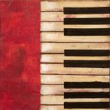 Piano Keys Kunst van  Hakimipour-ritter