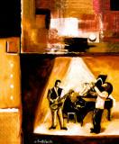 Musical Trio II Prints by Everett Spruill