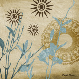 Botanical Silhouettes III Art by Michael Marcon