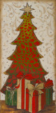Christmas Tree II Prints by Patricia Quintero-Pinto