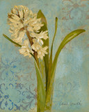 Hyacinth on Teal I Art by Lanie Loreth