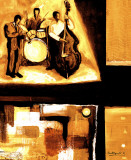 Musical Trio I Poster by Everett Spruill