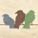 Birds III Prints by Patricia Quintero-Pinto
