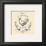 Organic Chicken Print by Marco Fabiano