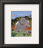 Baby Elephant Poster by Sophie Harding