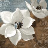 White Magnolias I Plakaty autor Lanie Loreth