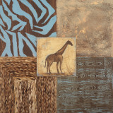 Textures of Africa II Prints by  Hakimipour-ritter