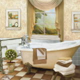 French Bath II Poster by Elizabeth Medley