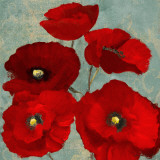 Kindle's Poppies II Posters by Lanie Loreth